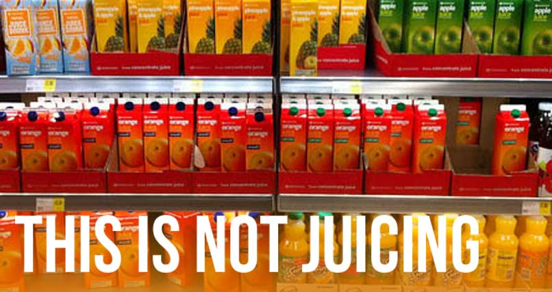 Common Juicing Mistake: Thinking Bottled Juices Are The Same As Freshly Made