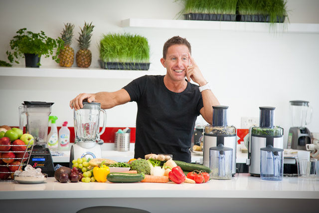 Natural Juice Junkie Interviews Juice Master, Jason Vale