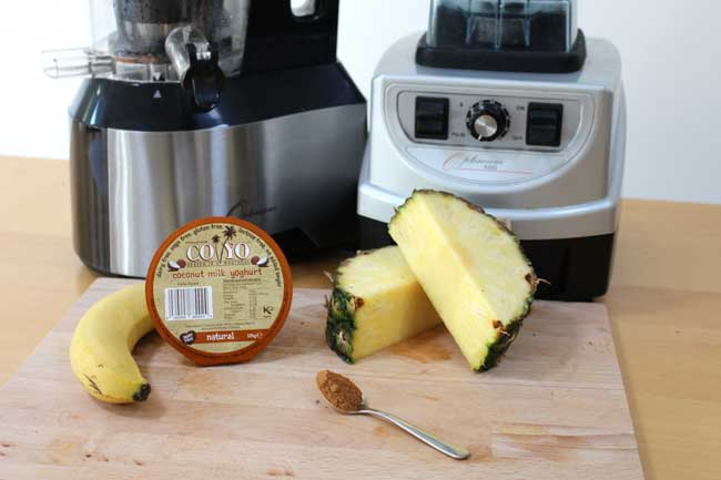 Juicing: Cinnamon Dolce Smoothie