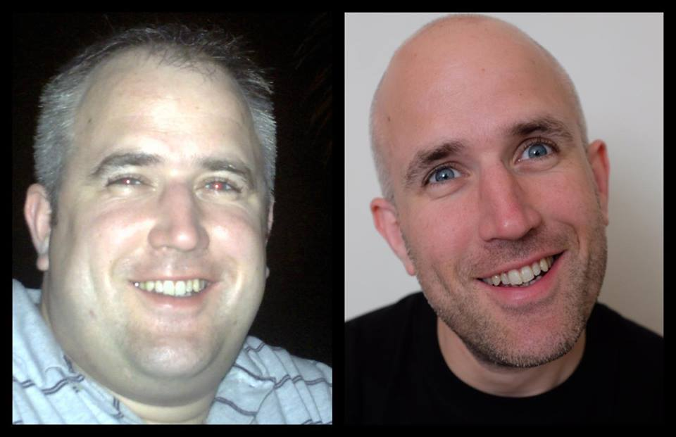 Neil Martin, Natural Juice Junkie Weight Loss Before and After