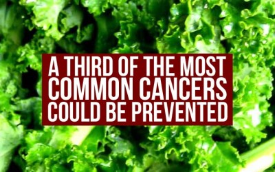 A Third Of The Most Common Cancers Could Be Prevented