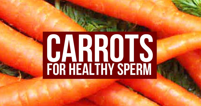 Are Carrots the Key to Healthy Sperm?
