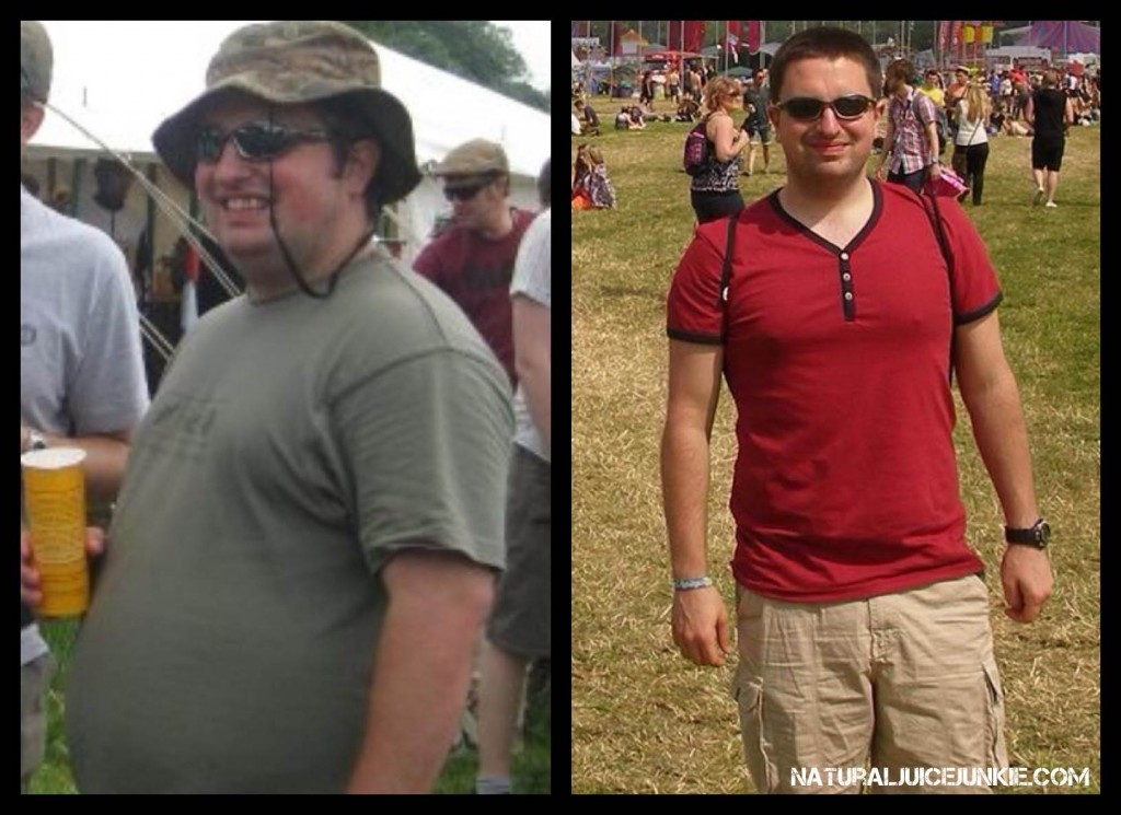 Juicing Weight Loss: Jason loses 105 pounds juicing