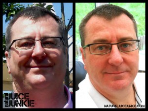Mark Loses 40 pounds juicing and stops gout pain