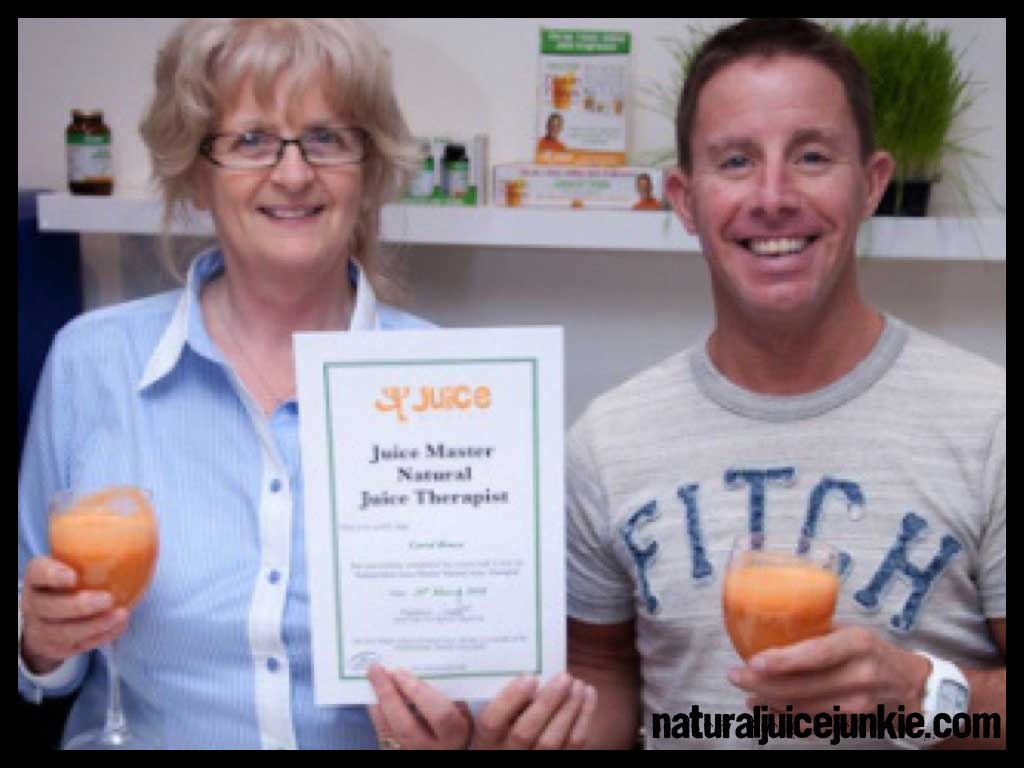 Carol Brace: First ever fully qualified natural juice therapist-aged-62