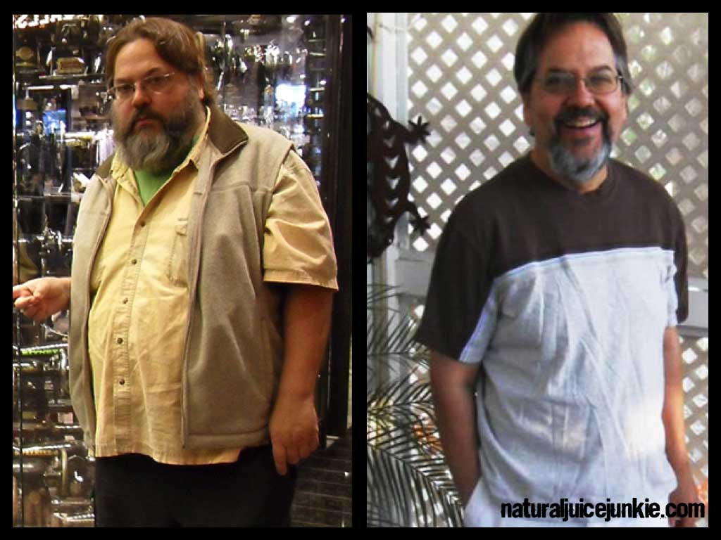 "Juicing for Weight Loss: Dan Loses 143 Pounds and ""Can Have Sex Again"""