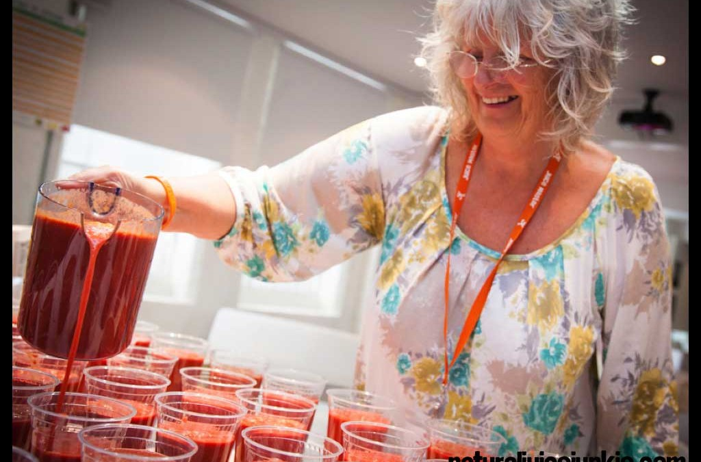 Carol Brace, The World's First Fully Qualified Natural Juice Therapist