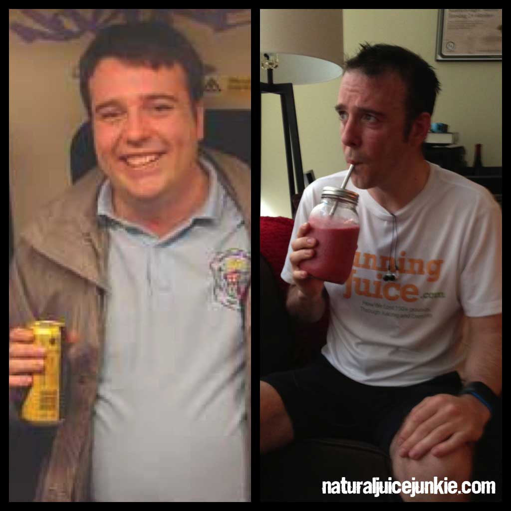 Juicing: Shane Loses 80 Pounds Running On Juice