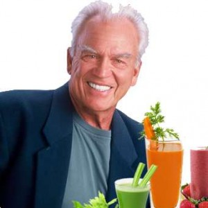 "Jay Kordich says its ""the juice of the fibre that feeds you"""