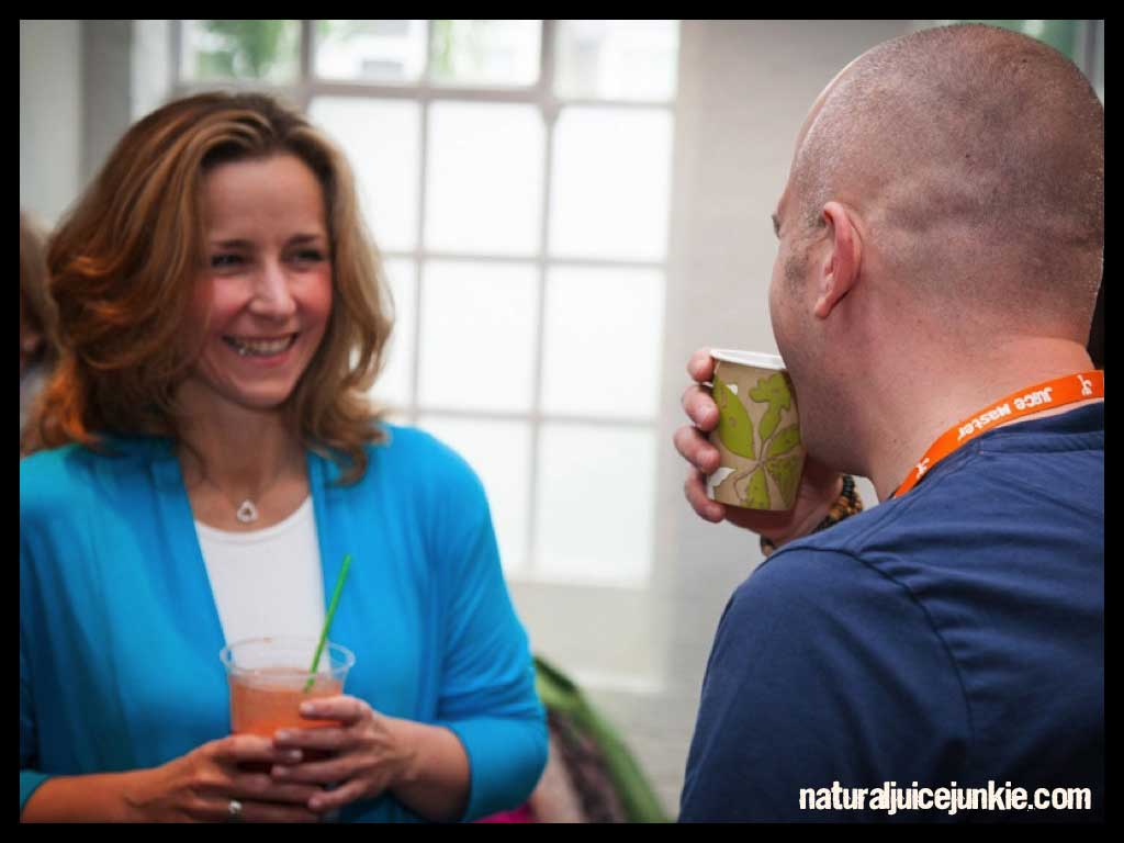 """Melissa explains """"Without Juice I immediately feel more sluggish, demotivated and lacking in direction. Juicing is my life insurance policy"""""""