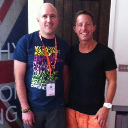 Neil Martin, Natural Juice Junkie with Jason Vale Juicemaster