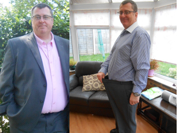 Mark Beddoe Before and After juicing weight loss picture
