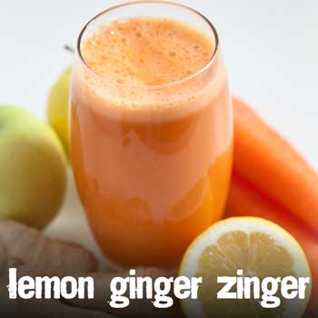 Juicemaster Lemon Ginger Zinger