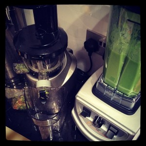 Optimum 9400 Blender and Optimum 400 Slow Juicer