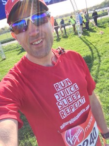 Running on Juice (and in Pain) - London Marathon 2014