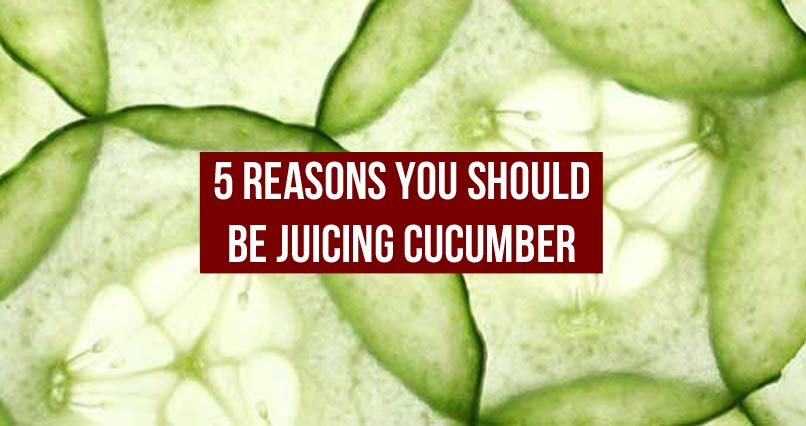 5 Reasons You Should Be Juicing Cucumber
