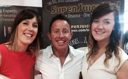Super Juice Me - Sarah Crosby, The Healthy Geek with Jason Vale Juice Master
