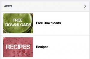 Free downloads on Natural Juice Junkie Facebook Page