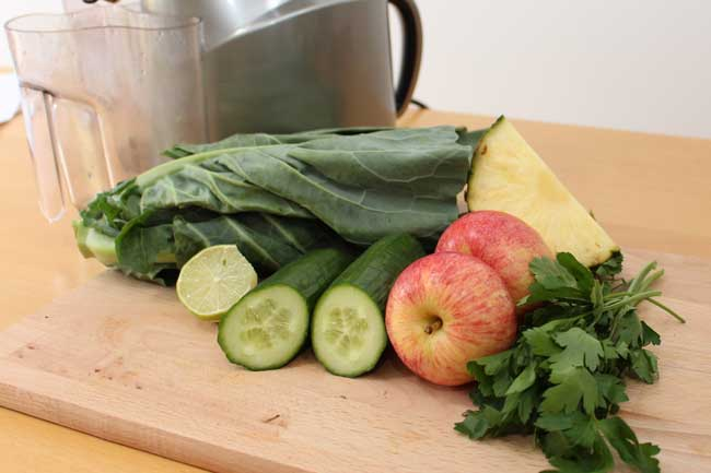 Juicing: Deep Cleanse Green Juice Ingredients