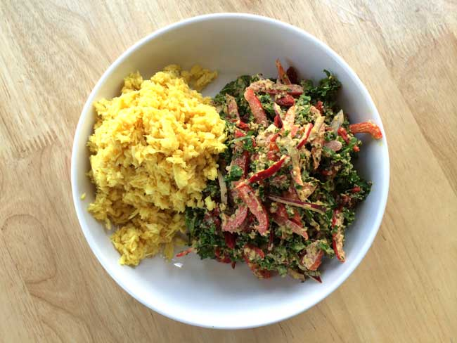 Raw Vegan Recipe: Red Thai Curry