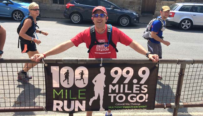 100 Mile Run - 99.9 Miles To Go