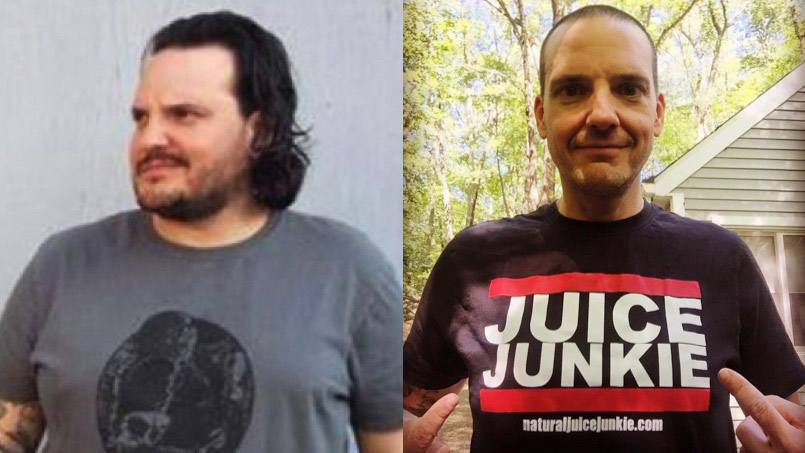 Juicing for Weight Loss: 65 Pounds (4.5 Stone) in 7 Months