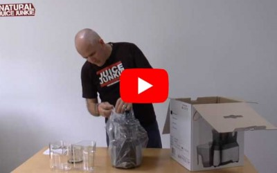 Optimum 600 – Unboxing the Revolutionary Big Mouth Cold Press Juicer