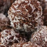 Chocolate Truffle Bliss Balls (Made From Juice Pulp)