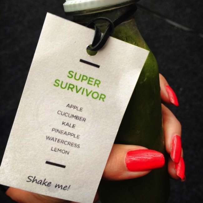 Juicing Recipe: Super Survivor Green Juice