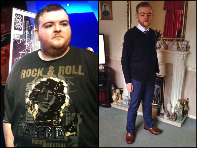 Juicing Helps 400 Pound (28 Stone) Dean Shed Over HALF His Body Weight in a year