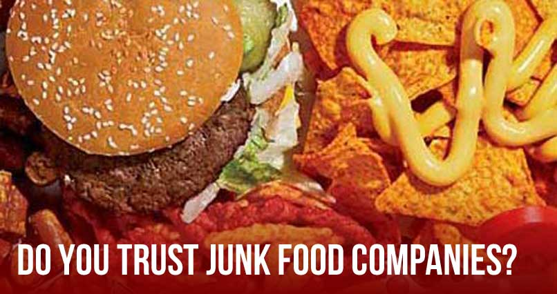 Do You Trust Junk Food Companies?