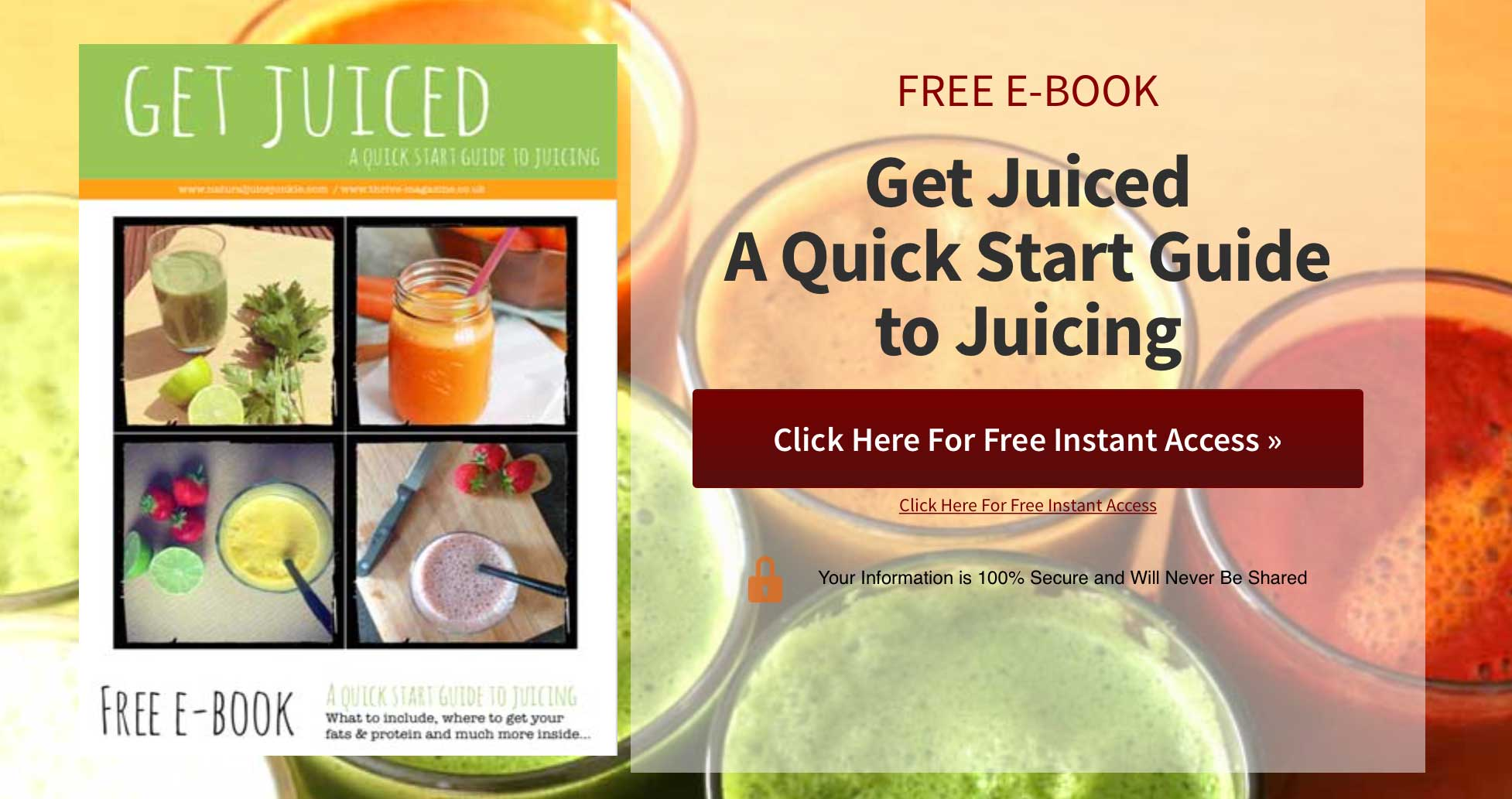 Natural Juice Junkie - FREE Juicing Quick Start Guide