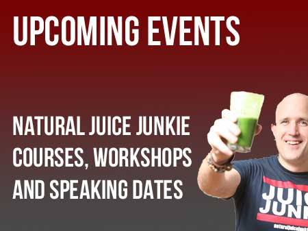 Natural Juice Junkie Events