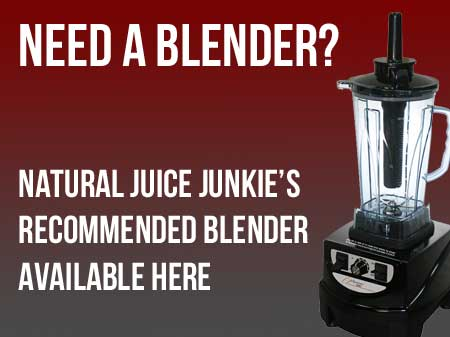 Natural Juice Junkie recommends Optimum 9400 Blender