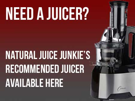 Natural Juice Junkie Recommends Optimum 600 Juicer