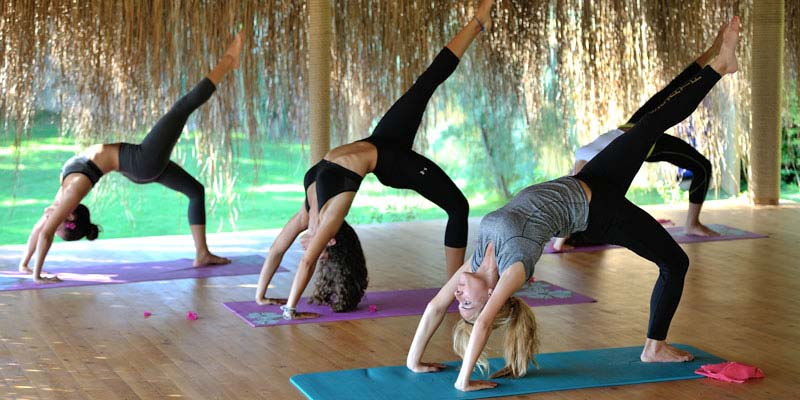 Yoga at Natural Juice Junkie Retreat