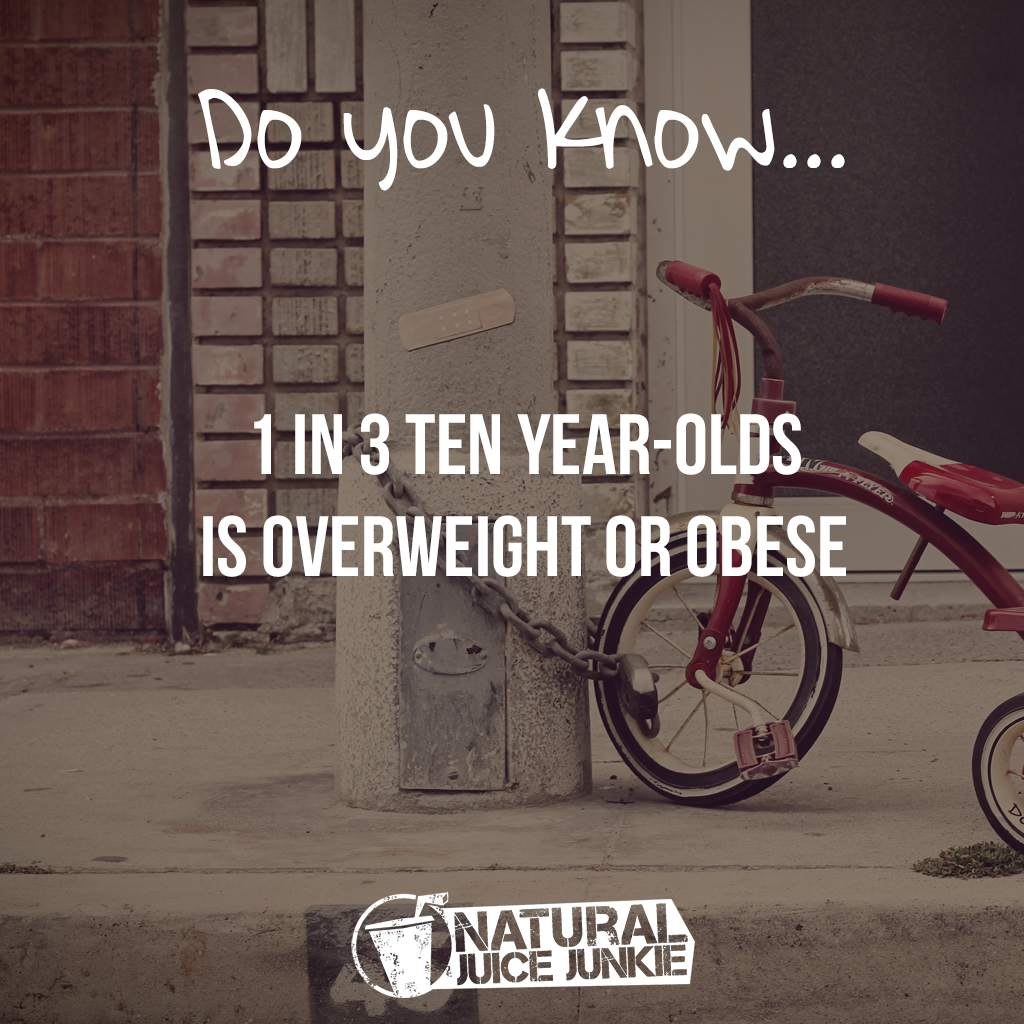 Childhood Obesity 2015 - The Statistics Parents Need to Read