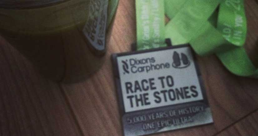 Race to the Stones Medal 2015