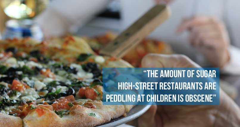 These High Street Restaurants Serve Kids Obscene Amounts of Sugar