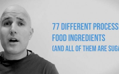 77 Different Processed Food Ingredients (and ALL of them are SUGAR)