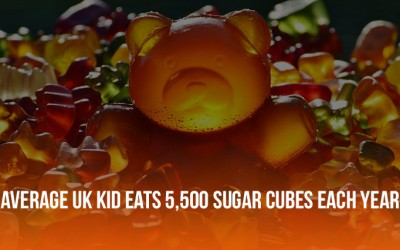 Five-Year-Old Children Eating Their Body Weight in Sugar Every Year