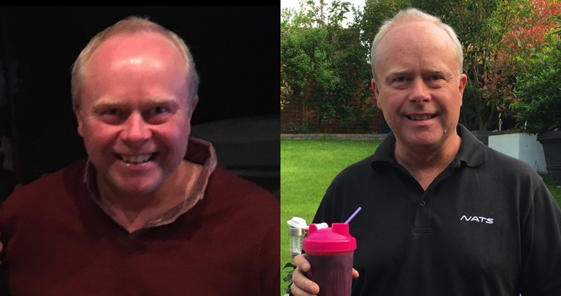 """""""I haven't had this much energy since I was a teenager"""" says 51 year-old Phil"""