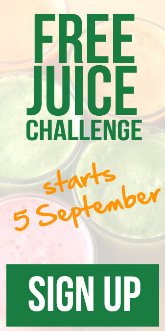 Free 7 Day Juice Challenge starts 5 September 2016