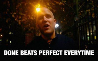 Done Beats Perfect (and so does 90%)