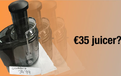 Juicing with a €35 Supermarket Juicer