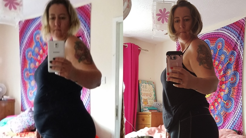 Juicing Helps Julie Beat Depression and Drop 5 Stone (70 Pounds)