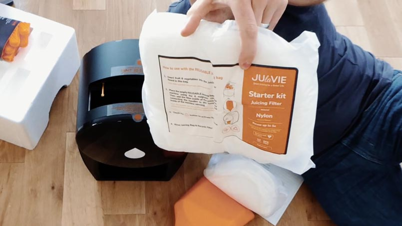 Julavie Juicer Starter Kit